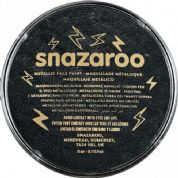 Snazaroo Classic Face Paint in Metallic Electric  Black